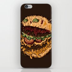 Monster Burger iPhone & iPod Skin