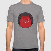 Evil Monster With Pointy… Mens Fitted Tee Tri-Grey SMALL