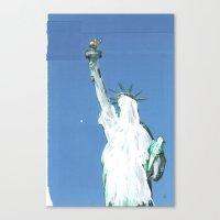 gestrichen Canvas Print