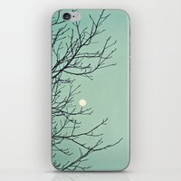 Holding The Moon iPhone & iPod Skin