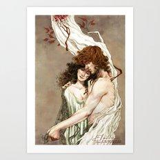 Blood&Bone Art Print