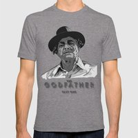 The Godfather - Part One Mens Fitted Tee Tri-Grey SMALL