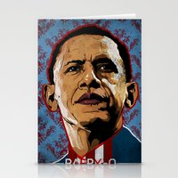 Don't Sleep on Barry O Stationery Cards