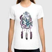 The Dream Catcher Womens Fitted Tee White SMALL