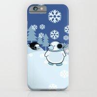 penguins iPhone 6 Slim Case