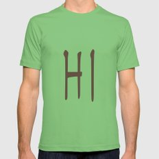 HI Mens Fitted Tee Grass SMALL