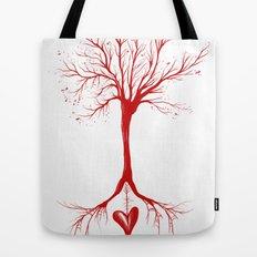 Bleed Love Tote Bag
