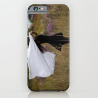 "iPhone & iPod Case featuring ""She was finally found—realizing her place in the realm of the oblivion."" by Sarah Zanon"