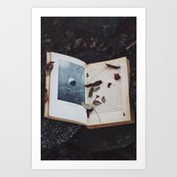 Book of the Stars Art Print