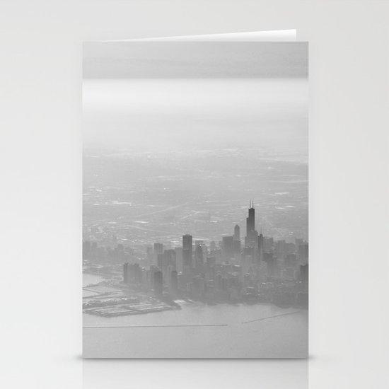 Chicago Skyline Stationery Card