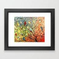 27 Birds Framed Art Print