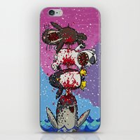 Here Comes a Narwhal! iPhone & iPod Skin