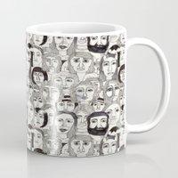 Faces in the Tube Mug