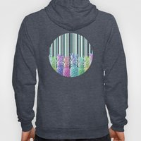 Pastel Jungle and Stripes Hoody