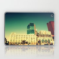 Chicago Retro Skyline ~ … Laptop & iPad Skin
