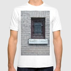 Window Mens Fitted Tee White SMALL