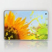 Splashing Sunflower Laptop & iPad Skin