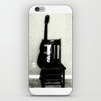 This Chair and Guitar Weren't Always So Lonely iPhone & iPod Skin