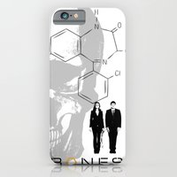 iPhone & iPod Case featuring Bones  by JAGraphic