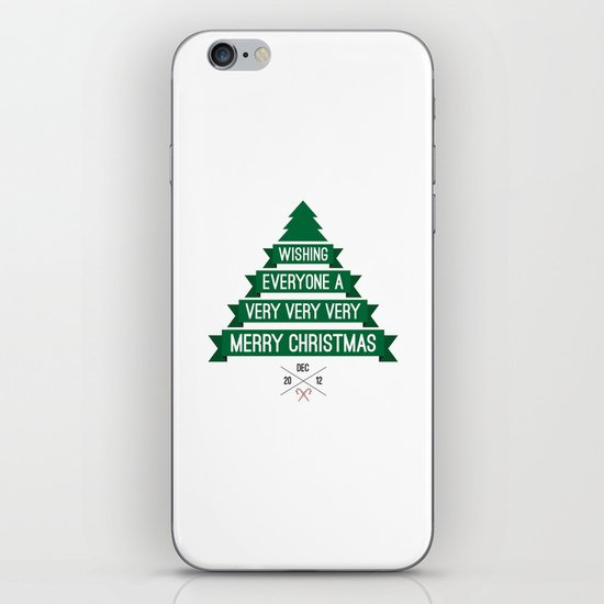 Merry Wishes iPhone & iPod Skin