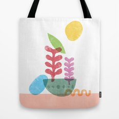 Still Life with Egg & Worm Tote Bag