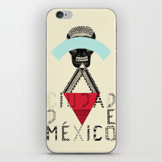 Locals Only - Ciudad de México iPhone & iPod Skin