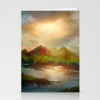 Calling The Sun XVIII Stationery Cards