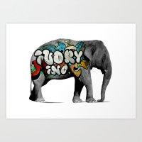 Ivory Inc. Art Print