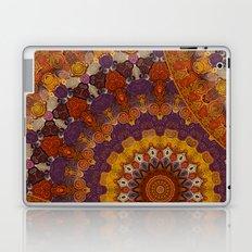 Color Me Autumn Kaleidoscope Mandala  Laptop & iPad Skin