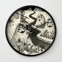 Weary Vagabond  Wall Clock