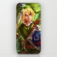 Link - Legend of Zelda iPhone & iPod Skin