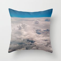 View of the sky Throw Pillow