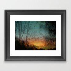 Faraway Framed Art Print