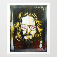 Yellow Dude : The Big Lebowski Art Print