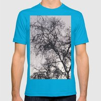 End of the Day Mens Fitted Tee Teal SMALL