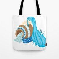 Aquarius Girl Tote Bag