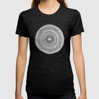 The Sun Womens Fitted Tee Tri-Black SMALL