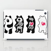 Panda Anatomy iPad Case