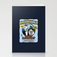 Sloth and Chunk's Ice Cream Stationery Cards