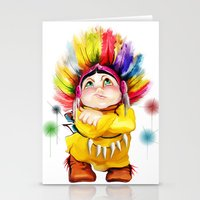 indian Stationery Cards featuring Indian  by tatiana-teni