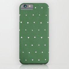 Geo Triangles Avacado Slim Case iPhone 6s