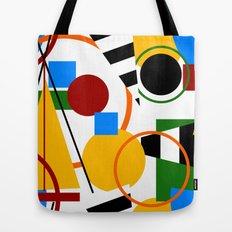 Abstract Art Deco Bermuda Tote Bag