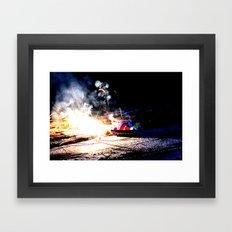 Tiny Tank Framed Art Print