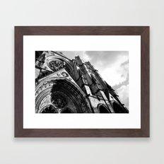 Cathedral of Saint John The Divine  Framed Art Print