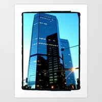 Downtown Denver Art Print