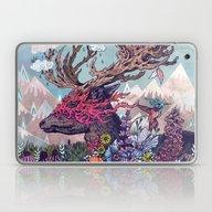 Laptop & iPad Skin featuring Journeying Spirit (deer) by Mat Miller