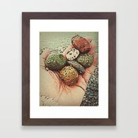 Trade for a cow? Framed Art Print