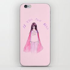 Feminist Hero iPhone & iPod Skin