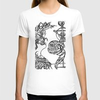 The Seeker Womens Fitted Tee White SMALL