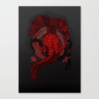 Incipit Serpent Canvas Print